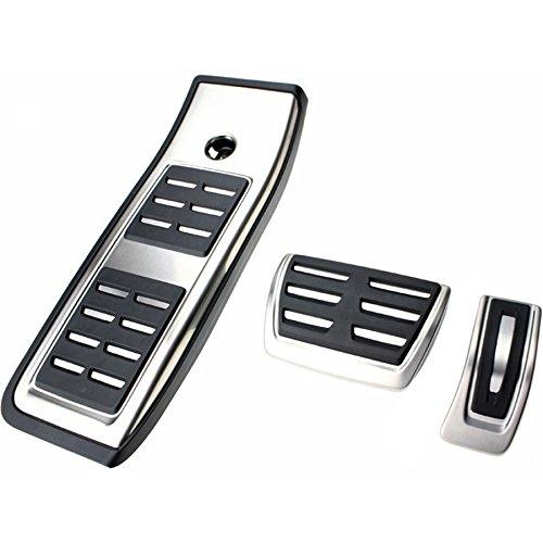 Audi 8W1064205A Pedalkappen-Set für A4/S4 (B9 8W) Automatikgetriebe mit Fußstütze