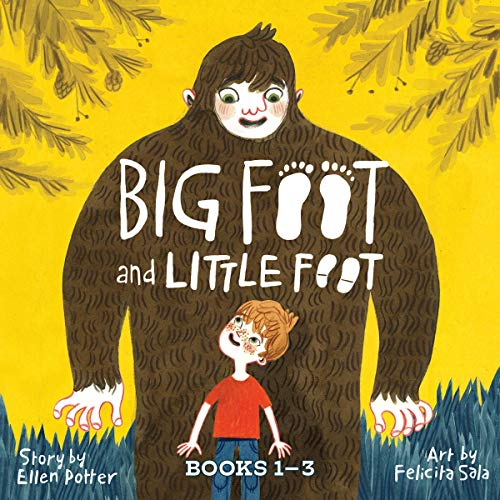 Big Foot and Little Foot Collection audiobook cover art