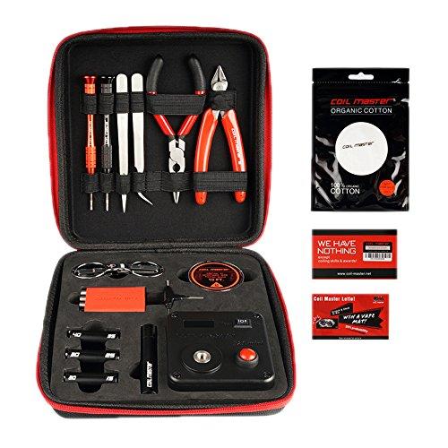 Coil Master V3 Kit fai da te Set di attrezzi con la più recente Coil Jig (V4) 521 Tab Mini Ohm