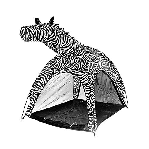LAL6 Kids tent indoor boy girl toy play house outdoor children cartoon animal tent,zebra