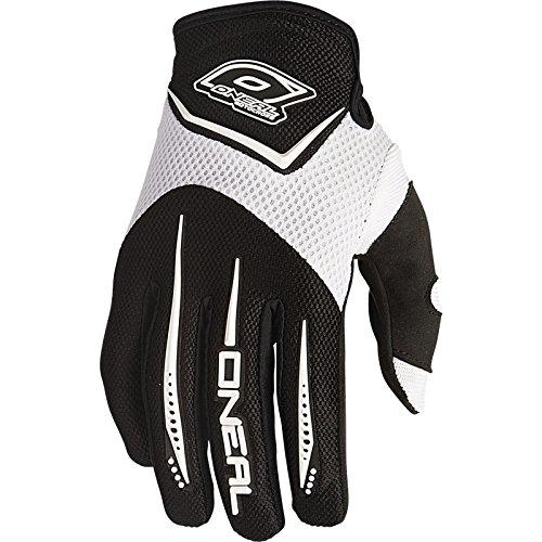 O'Neal Element MX DH Handschuhe Weiß Moto Cross Mountain Bike Downhill Motorrad Glove, 0399-2, Größe Small