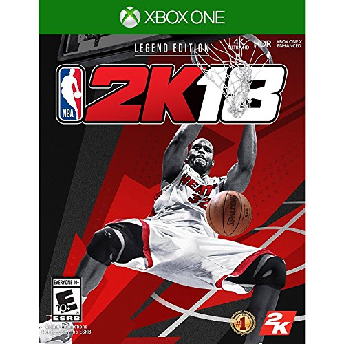 NBA 2K18 Legend Edition for Xbox One rated E - Everyone