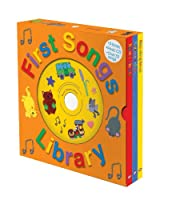First Songs Library with CD: Sing-along Books (Sing Along Books)