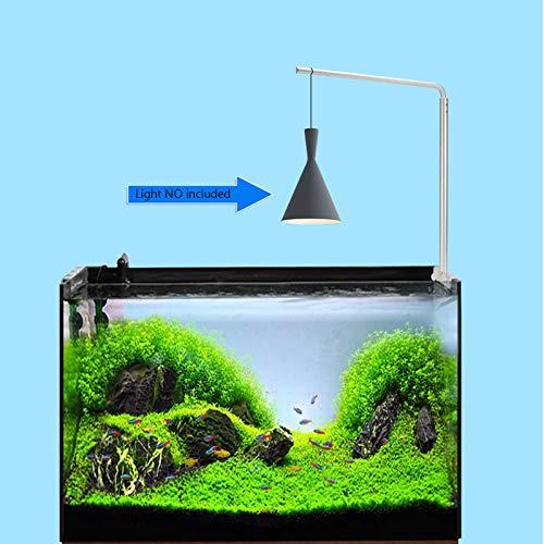Aquarium LED Light Hanging Stand Holder for Fish Tank Plant Lamp,Adjustable Tank Mount,Stainless Steel Support Hanger,Suspension System Kit,for Fish Tank/Plant Light Lamp,Tank Bracket Hanging Kit