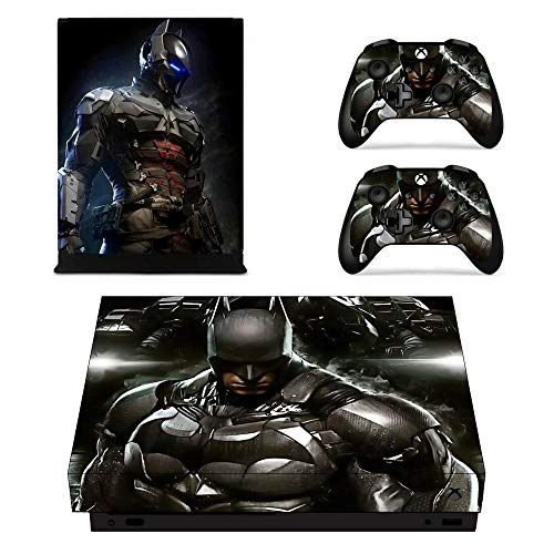 Batman Game Cover Skin Consola y controlador Calcomanías adhesivas para Xbox One X Skin Stickers Vinilo