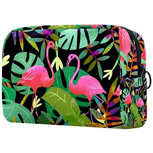 Bolso de cosméticos para mujer, bolsa de maquillaje, bolsa organizadora de artículos de tocador, con cremallera, 18 x 7 x 12 cm, diseño de araña negra