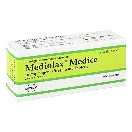 Mediolax Medice Tabletten, 50 St. Tabletten