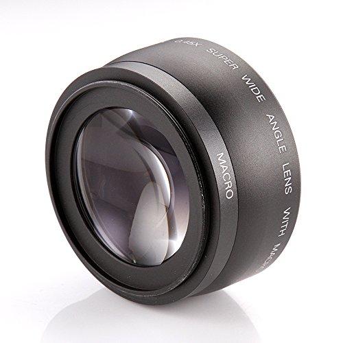Fotga - Obiettivo grandangolare e macro da 43 mm, 0,45 x per Canon Nikon, ecc.