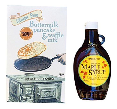 Trader Joe#039s Gluten Free Pancake Mix amp Maple Syrup
