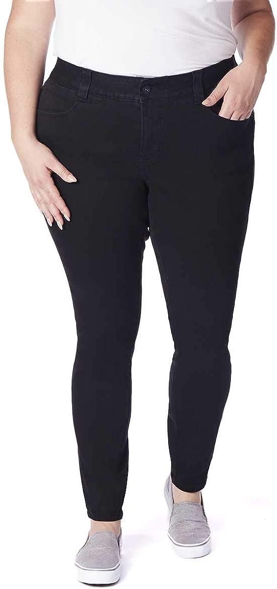本物 Jag Jeans Women's Plus Size Fit ギフ_包装 Skinny Cecilia Jean