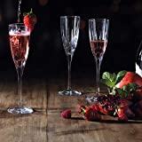RCR 26232020006 Chic Sektgläser aus Luxion-Kristall, 150 ml, 6er-Set Champagne Glasses, Glas - 2