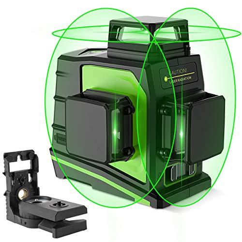 Image of Huepar 3D Green Beam Self-...: Bestviewsreviews