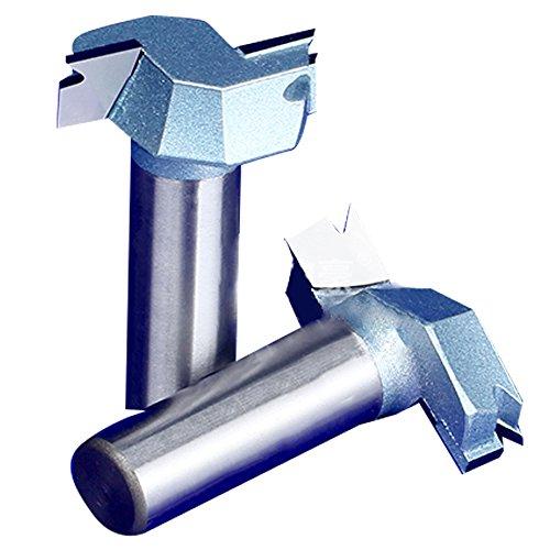 SHINA 1pc de haute qualité dur Tungsten acier enduit Bit cutter tranchant de coupe Scie 1/2 '' 25mm 12.7mm pour bois massif Meubles bois