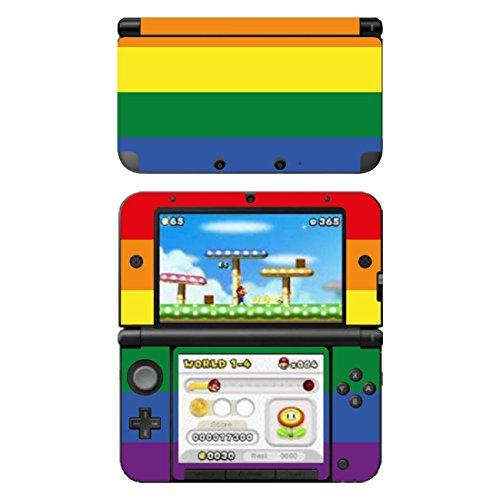 Disagu SF-104164_1222 Design Schutzfolie für Nintendo 3DS XL Motiv Rainbow Pride klar