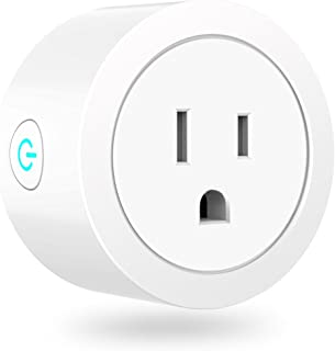 Premium Quality Mini Smart Plug Socket (WHITE) | Compatible With Android 4.1, IOS 9 and Higher | WiFi Enabled Smart Plugs Remotely Control Your Devices Via App  No Hub Required.