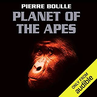 Planet of the Apes audiobook cover art