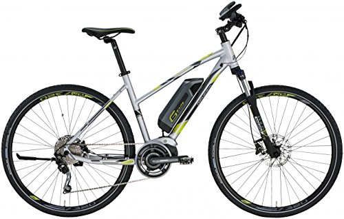 Genesis Cross de Bike Elite 28 – Plata Mate
