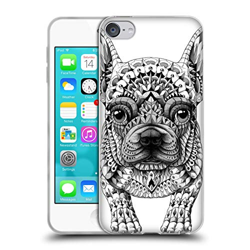 Head Case Designs Officially Licensed Bioworkz Frenchie Canine Soft Gel Case Compatible with Apple Touch 6th Gen / Touch 7th Gen