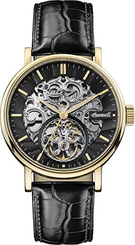 Ingersoll The Charles Gents Automatic Watch I05802 with a Stainless Steel case and Genuine Leather Strap