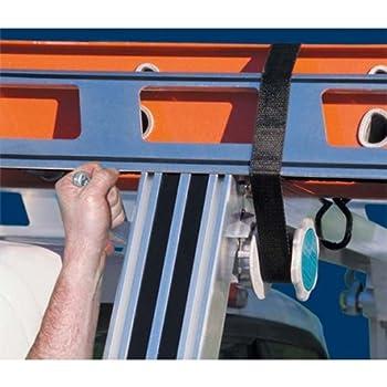 System One AWW-4 Aluminum Work Winch  Set of 4  Ladder Racks Tie Down