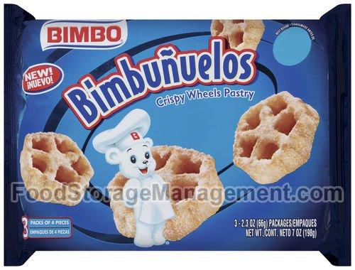 Sweet Baked Goods Bimbunuelos 2.3 Oz Packs Bimbo Crispy Wheels (2pk)