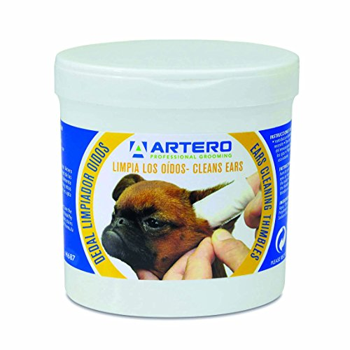 ARTERO Disposable Ear Cleaning Wipes for Dogs and Cats, 50 Wipes H687