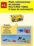 PlusL instrucciones de remake para LEGO 10696,5 tipos de animales (1): Usted puede construir 5 tipos de animales (1) de sus propios ladrillos