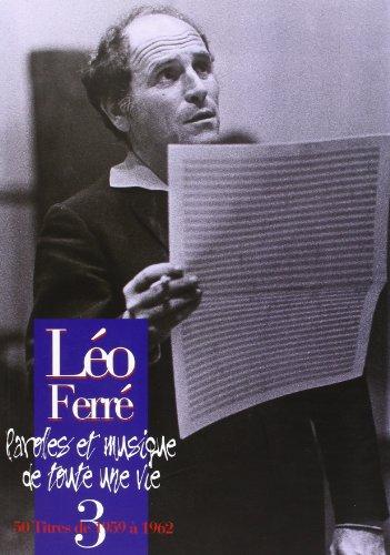 Ferre Leo L\'Integrale Vol.3 1959/1962