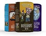 Kalamazoo Coffee Co Top Sellers Whole Bean Set- Reg & Flavored-12 oz. bag, Pack of 3