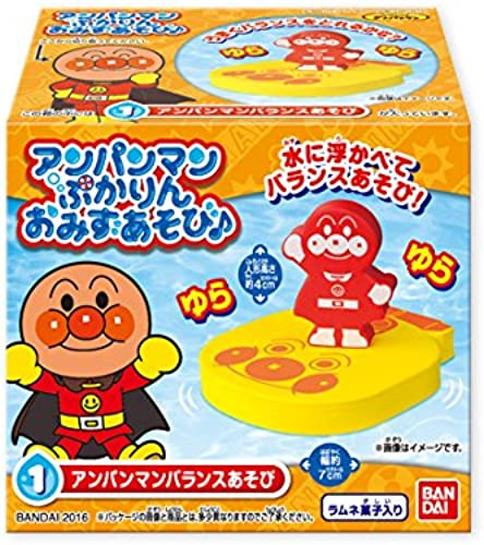 Anpanman puffy in, mizuasobi. 10 pieces shokugan   soft pastry