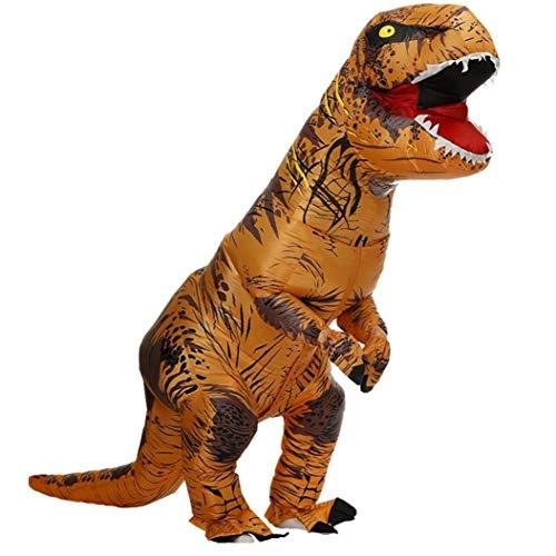 Lankater T-rex Dinosaurier Aufblasbares Kostüm-karikatur-tier Modellierung Kleidung Lustige Party-outfit