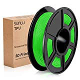 SUNLU 3D Printer Filament TPU,TPU Filament 1.75 mm,Low Odor Dimensional Accuracy +/- 0.02 ...