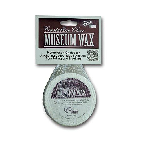 Ready America Quake Hold Museum Wax, 4 Oz, Clear, Crystalline