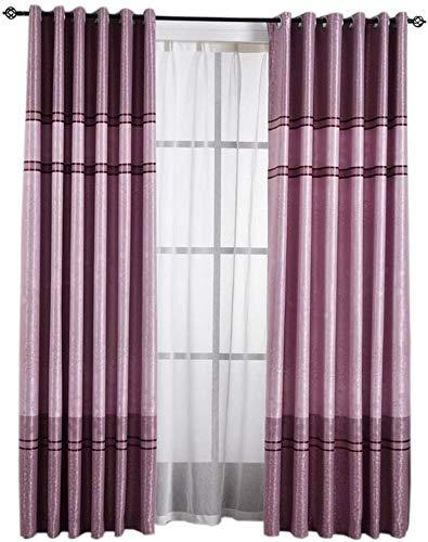 RR & LL gordijnen Nordic Minimalist stijl woonkamer slaapkamer kant-en-klare vloergordijnen verduisterende gordijnen (kleur: B, grootte: breedte 150 hoogte 270 cm (gordijn)) Width 400*height 270cm (curtain) 7