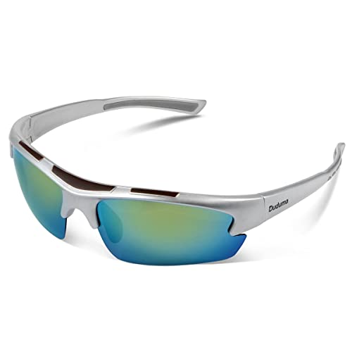 5696668f390da Duduma Polarized Designer Fashion Sports Sunglasses for Baseball Cycling  Fishing Golf Tr62 Superlight Frame