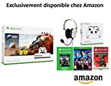 Pack Xbox One S Forza Horizon 4 + Casque Turtle Beach Recon 50x White + 2e Manette Xbox One Blanche + FIFA 19 + Gears Of War 4 + Apex Legends Founders...