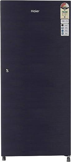 Haier 195 L 3 Star Direct-Cool Single Door Refrigerator (HRD-1953CKS-E, Black Brushline) 1