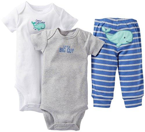 Carter's Baby Boys' 3 Piece Set - Blue - 12 Months