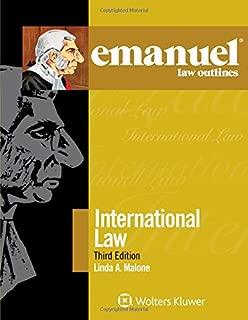 Emanuel Law Outlines: International Law