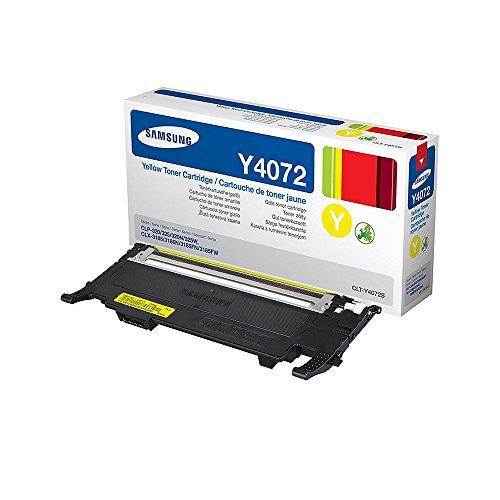 Samsung CLT-Y4072S/ELS Original Toner (Kompatibel mit: CLP-320/CLP-325/CLX-3185 Series) gelb