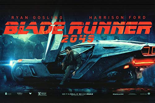 Blade Runner 2049 Ryan Gosling Harrison Ford Movie Poster 24in x 36in
