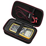 RLSOCO Hard Case for Auto-Ranging Digital Multimeter Neoteck 6000 Counts/BM235/ Tacklife DM01M/Fluke 101/Fluke...