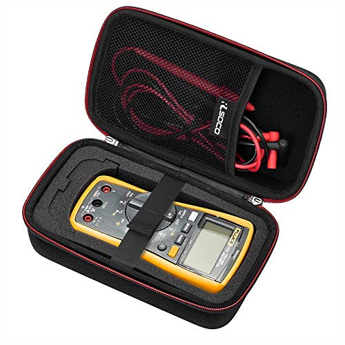 RLSOCO Carrying case for Fluke 117/115/116/114/113/177/178/179 Digital Multimeter and Fits for Fluke 101/106/107/ F15B+F17B+F18B+ and more(With DIY Foam)