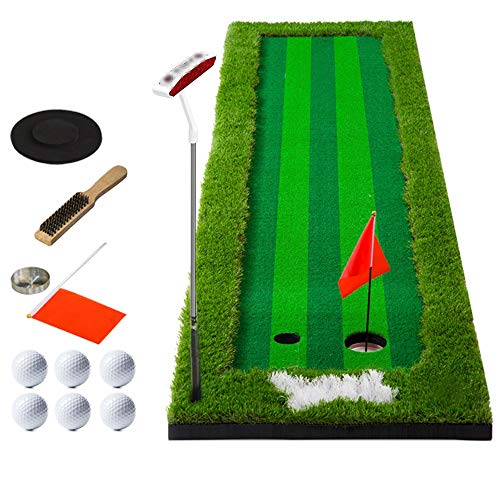 Fantastic Deal! YAOSHIBIAN- Women Men Golf Putting Green System Professional Practice Green Long Cha...