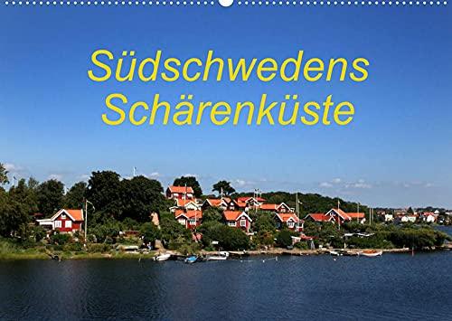 Südschwedens Schärenküste (Wandkalender 2022 DIN A2 quer): Eindrücke der Südschwedischen Schärenküste (Monatskalender, 14 Seiten )