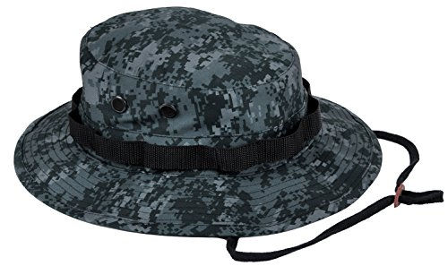 Rothco Boonie Hat, Midnight Digital Camo - (7 3/4) Inch
