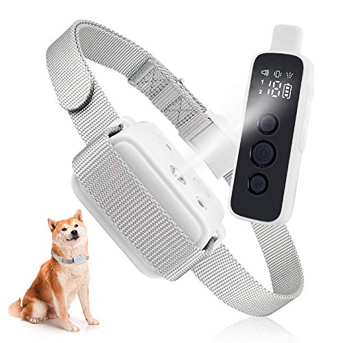 Anti Dog Bark Collar, Citronella Bark Collar with Remote Control, Rechargeable Dog Bark Stopper...