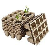 N-B Pflanzsamen-Starterschalen, biologisch abbaubares Saatgut-Pflanzpapier-Topfschale,...