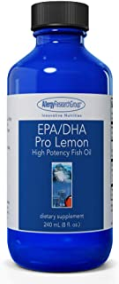 Allergy Research Group - EPA/DHA Pro Lemon - High Potency Omega-3 Fish Oil, Brain - 240 mL (8 fl oz)
