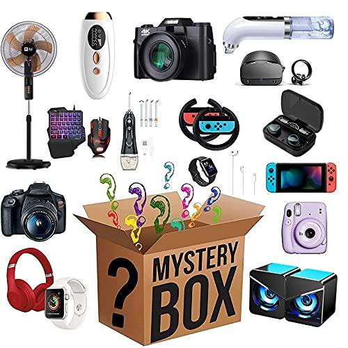 DJXLMN Mysterious Blind Box Lucky Mystery Box elettronici, Ottimo Rapporto qualità-Prezzo, Prodotti Casuali, Come droni, Orologi Intelligenti, Gamepad, più Tutto è Possibile